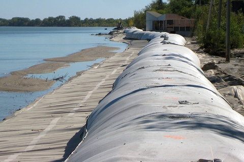 What is a Geotextile Tube