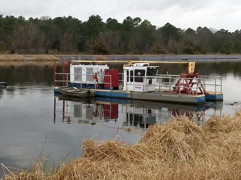 Industrial Pond & Lagoon Dredging